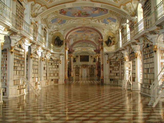 library-of-the-benedictine-monastery-of-admont-austria