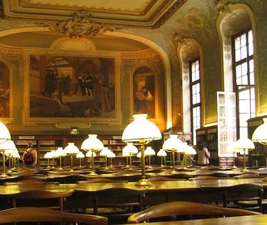 library of the sorbonne
