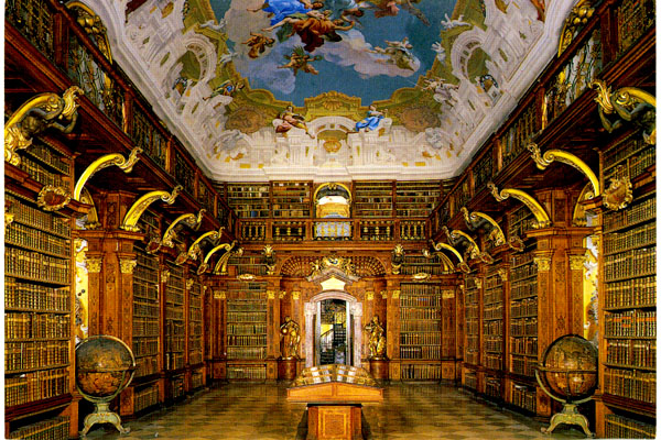 melk-library small--austria