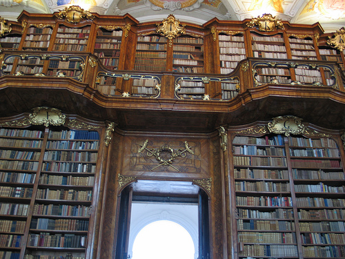 st florian monastery library