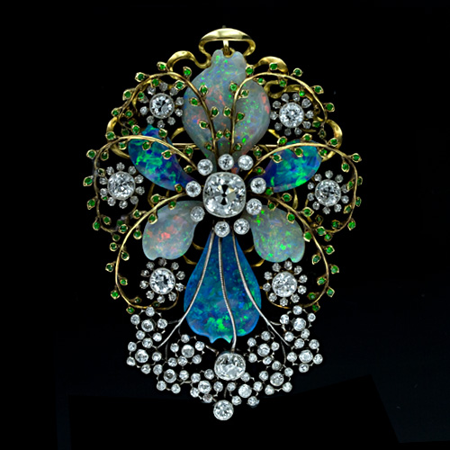 1233019060_Fabulous_Art_Nouveau_Opal_and_Diamond_Pin_Main_View50-1-2354