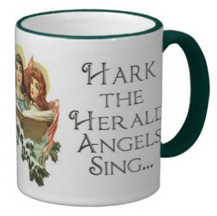 PIcture of the singing angels mug