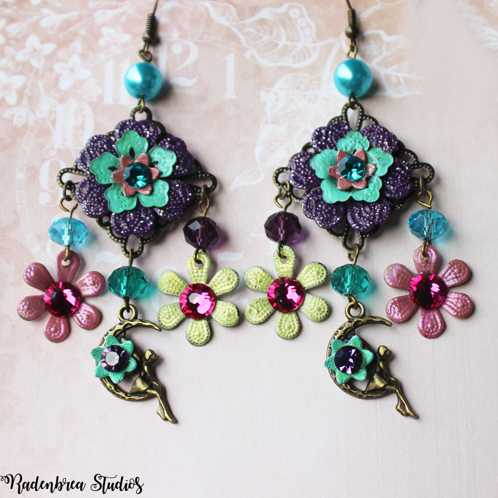 Fairy Garden Earrings