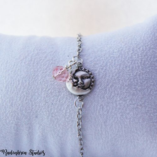 sun and moon face bracelet